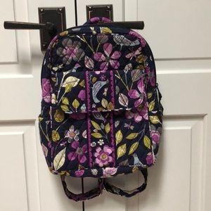 Vera Bradley Mini Backpack in Floral Nightingale